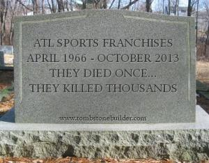 Here Lies Atlanta Sports